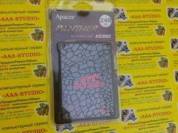 Внешние жесткие диски и SSD -  SSD 240GB Apacer Panther AS350 новый, 0