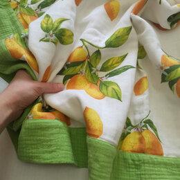 Покрывала, подушки, одеяла - Плед из муслина , 0
