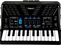 Клавишные инструменты - Цифровой аккордеон Roland FR 1X RED/BK, 0
