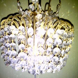 Бра и настенные светильники - Хрустальное бра, 0