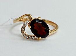 Кольца и перстни - Золотое Кольцо 585 с Гранатом , 0