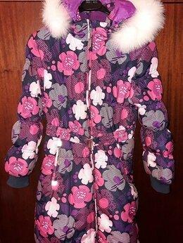 Пальто и плащи - Детское зимнее пальто для девочки 5-7 лет, 0