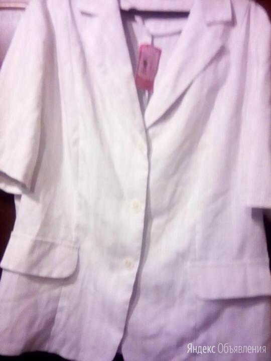 Брючный новый костюм с коротким рукавом Р. 56 по цене 1300₽ - Костюмы, фото 0