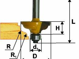 Для фрезеров - Фреза кром. калевочная ф34.9х14,4ммR4,8мм хв 8мм, 0
