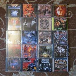Музыкальные CD и аудиокассеты - Фирменные CD rock heavy-metal, thrash, progressive, 0