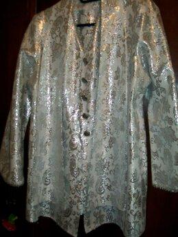 Пиджаки - Пиджак из парчи с красивыми пуговицами 46-48 р, 0