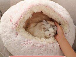 Лежаки, домики, спальные места - Домик лежанка для котов и собак, 0