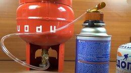 Газовые горелки, паяльные лампы и паяльники - Набор заправки газом и газовая горелка, 0