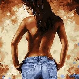 Раскраски и роспись - Картины по номерам Paintboy Брюнетка, 0