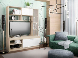 Шкафы, стенки, гарнитуры - Гостиная Софи №1 СЦС 1400.1, 0