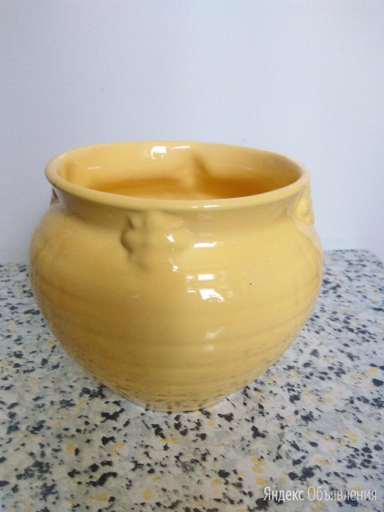 Горшок керамический, из СССР по цене 50₽ - Посуда для выпечки и запекания, фото 0