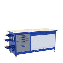 Мебель для учреждений - Слесарный верстак KronVuz TBW 511R2, 0