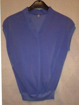 Блузки и кофточки - БЛУЗКА женская без рукавов бархатная 46 разм.…, 0
