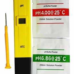Инвентарь для обслуживания аквариумов - Электронный PH-метр, измеритель кислотности, 0