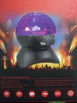 Новогодний декор и аксессуары - Диско шар Led magic ball с аккумулятором блютуз…, 0