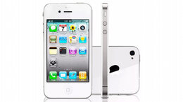 Мобильные телефоны - Apple iPhone 4s 16gb white как новый, 0