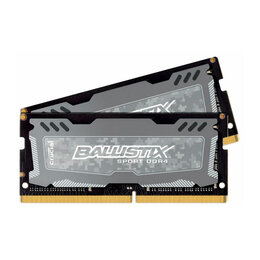 Модули памяти - Память 8ГБ (4Gb x 2) Crucial DDR4 SODIMM, 0