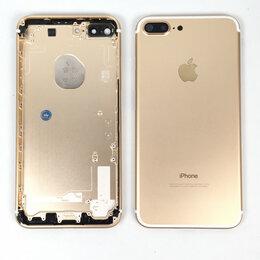 Корпусные детали - Корпус для Apple iPhone 7 Plus золотой,оригинал, 0