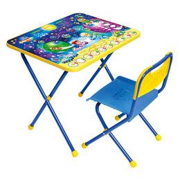 Столы и столики - Комплект детской складной мебели Ника Познайка…, 0