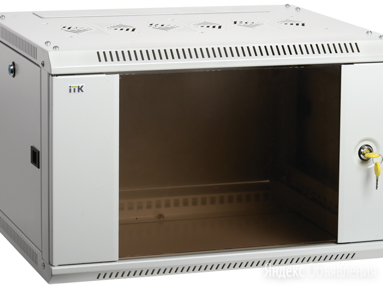 Шкаф настенный ITK LWR3-09U66-GF по цене 17934₽ - VoIP-оборудование, фото 0