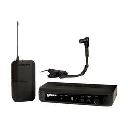 Радиосистемы и радиомикрофоны - SHURE BLX14E/B98 M17  радиосистема с микрофоном…, 0