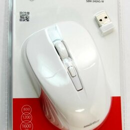 Мыши - Мышь беспроводная ONE 340AG белая, 0