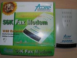 Прочее сетевое оборудование - Факс Модем ACORP-56EMSF-2, 0