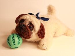 Статуэтки и фигурки - Интерьерная игрушка пёс «Мопс», 0