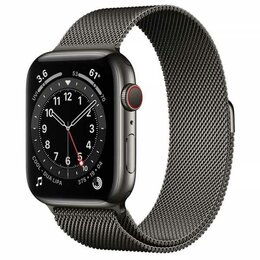 Умные часы и браслеты - Apple Watch Series 6 44mm GPS+Cellular Graphite…, 0