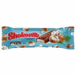 Продукты - Конфеты шоколадные SHOKOVITA, нуга с кокосовой…, 0