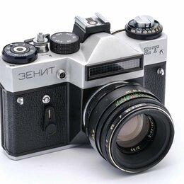 Пленочные фотоаппараты - Зенит ЕТ (плёночный фотоаппарат), 0
