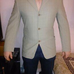 Пиджаки - Пиджак мужской лен 48 р продаю или меняю, 0