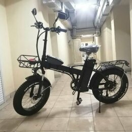 Мото- и электротранспорт - Электровелосипед SYCCYBA H1 с большими колесами 2021 год, 0
