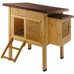 Клетки и домики - Деревянный домик для кур HEN HOUSE 10 - Курятники, 0