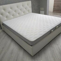 Кровати - Кровать с матрасом двуспальная бесплатно доставка в рассрочку , 0