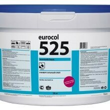 Строительные смеси и сыпучие материалы - Клей для ПВХ-плитки и линолеума Forbo 525 Eurosafe Basic, 20 кг, 0