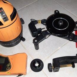 Измерительные инструменты и приборы - Лазерный уровень Geo-Fennel FL 50 Plus, б/у, 0