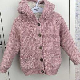 Джемперы и толстовки - Утеплённая кофта 86 р-р для девочки на 1-2 года , 0