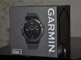 Умные часы и браслеты - Garmin Fenix 5 (новые, коробка открыта), 0