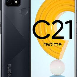 Мобильные телефоны - Realme C21, NFC, 4/64 GB, 5000 mAh, Новый, Гарантия, 0