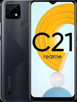 Мобильные телефоны - Realme C21, NFC, 4/64 GB, 5000 mAh, Новый,…, 0