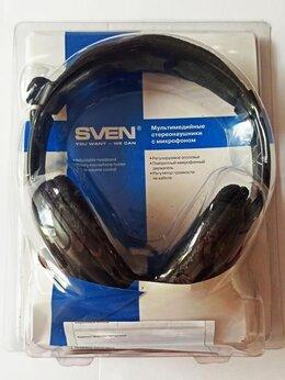 Наушники и Bluetooth-гарнитуры - Наушники SVEN с микрофоном, 0