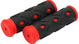 Рулевое управление - Грипсы STG XD-113B 95 мм(черно-красный), 0