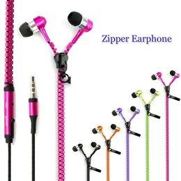 Наушники и Bluetooth-гарнитуры - Наушники молния Zipper Earphones, 0
