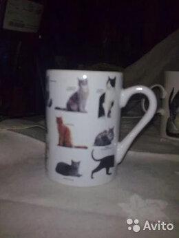 Кружки, блюдца и пары - Кружка коллекционная Англия (породы кошек), 0