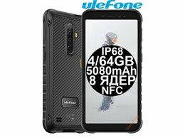 Мобильные телефоны - НОВЫЕ Ulefone Armor X8 Black IP68 5080mAh 4/64GB…, 0