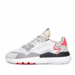 Кроссовки и кеды - Кроссовки Adidas Nite Jogger Gray / White / Red 41 р-р, 0