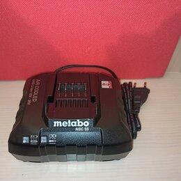 Аккумуляторы и зарядные устройства - Зарядное устройство Metabo ASC 55 Black Edition, 0
