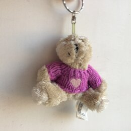 Брелоки и ключницы - Брелок «мишка Тедди». Мерч от Ives Rocher, 0