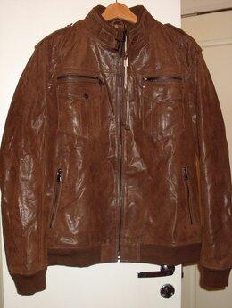 Куртки - Стильная,мужская кожаная куртка, 0
